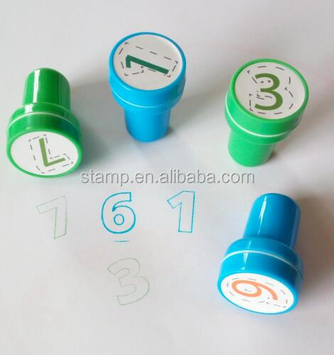 custom assorted <strong>Arabic</strong> numbers stampers for kids,play,paper,party