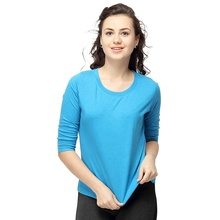 Commercio all'ingrosso di alta qualità dei vestiti di estate blu scuro donna <span class=keywords><strong>t</strong></span> <span class=keywords><strong>shirt</strong></span>