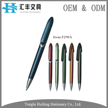 HF5290 OEM industrial manufacturer stationery plastic ball pen for signing