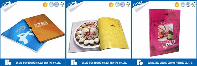 thick book gold hot stamping embossed hardcover book printing