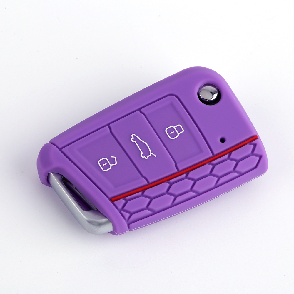 Factory supply oem silicone car key protective cover for golf 7