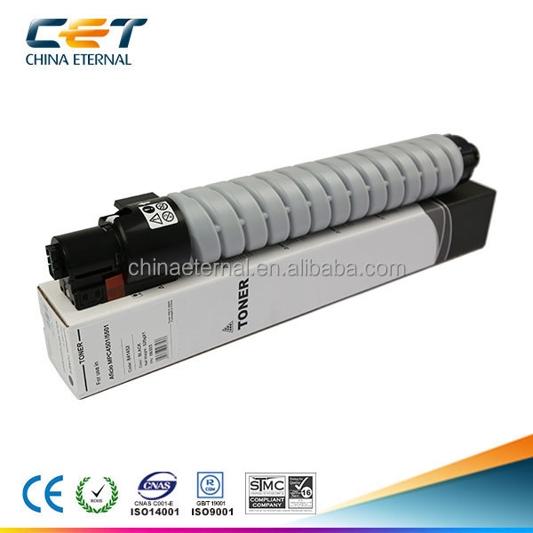 Copier toner cartridge kompatibel dengan Ricoh MPC4501/5501 C M Y K