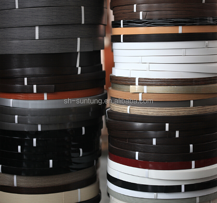 Laminate Abs/pvc Edge Band Tape For Cabinet Furnitures Fittings - Buy  Factory Pvc/abs Laminate Pre-glued Edge Band Tape For Cabinet