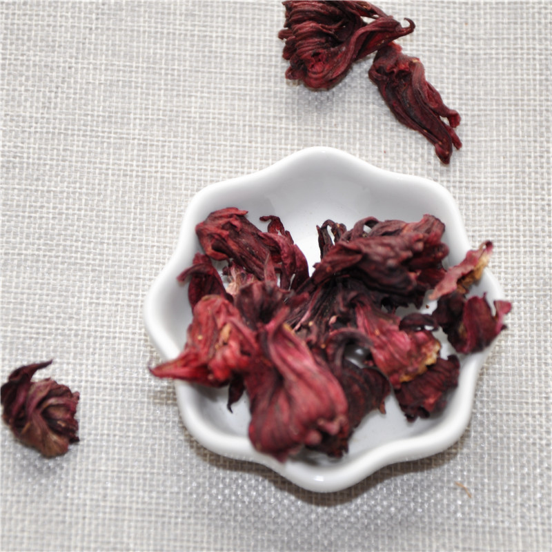 Luo Shen Chinese Herbal Tea Mei Gui Qie Dried Natural Dried Hibiscus