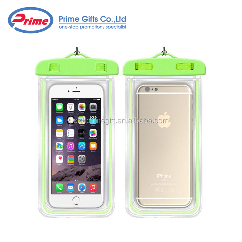 Wholesale 100% Seal PVC Small Waterproof Phone Case for Promotions