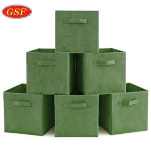 Collapsible Storage Organizer Boxes Cube For Nursery Home