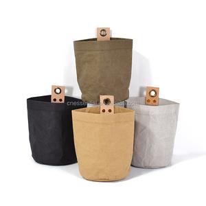 Scandinavian style simple design water resistant washable tyvek kraft paper bag