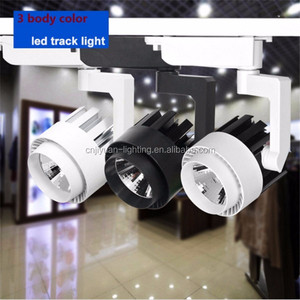24D Reflector Tracking Light Eclairage LED DALI Spot Waterproof 25W COB Shoplight 3 Phase Juno Rail Track