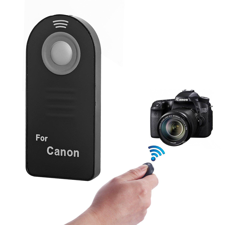 7D and T1i Digital SLR Cameras Canon RC-5 Wireless Remote Controller for Canon XT//XTi XSi