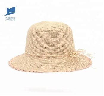 12136a449b2d2 New Design Summer Cloche Straw Hat For Lady - Buy Straw Cloche ...