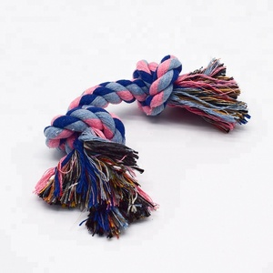 Wholesale Knots Bone Shaped Dog Rope Toy For Small Dog 2018 Dog Toys