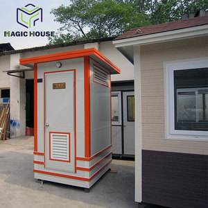 mobile portable toilets cabin, high quality china large capacity waste tank portable toilet price
