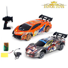 1:14 5CH electric high speed drift racing rc toy car with light