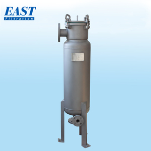 High pressure liquid water filtration inside polishing stainless steel water tank for sale industrial bag filter equipment