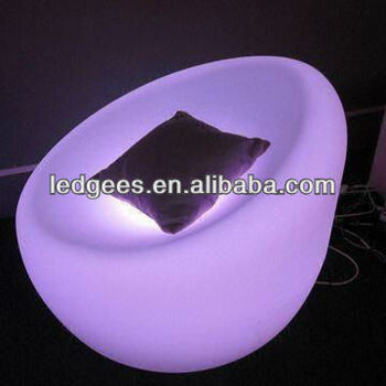 New! Modern Led Plastic Tub Chairs With 16 Color Changing,Ce And ...
