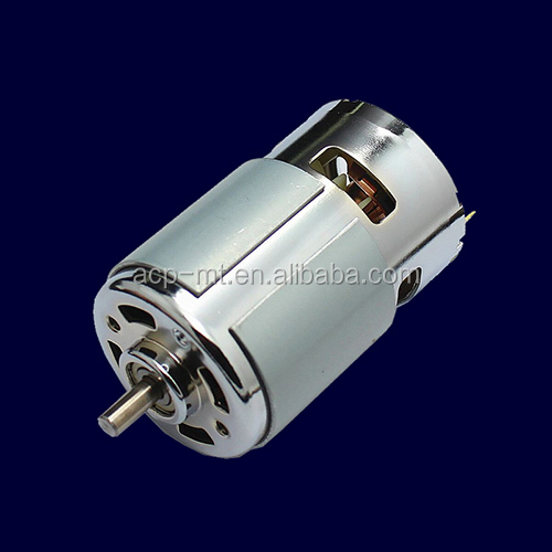 High Torque 7000rpm dc motor 12V 775