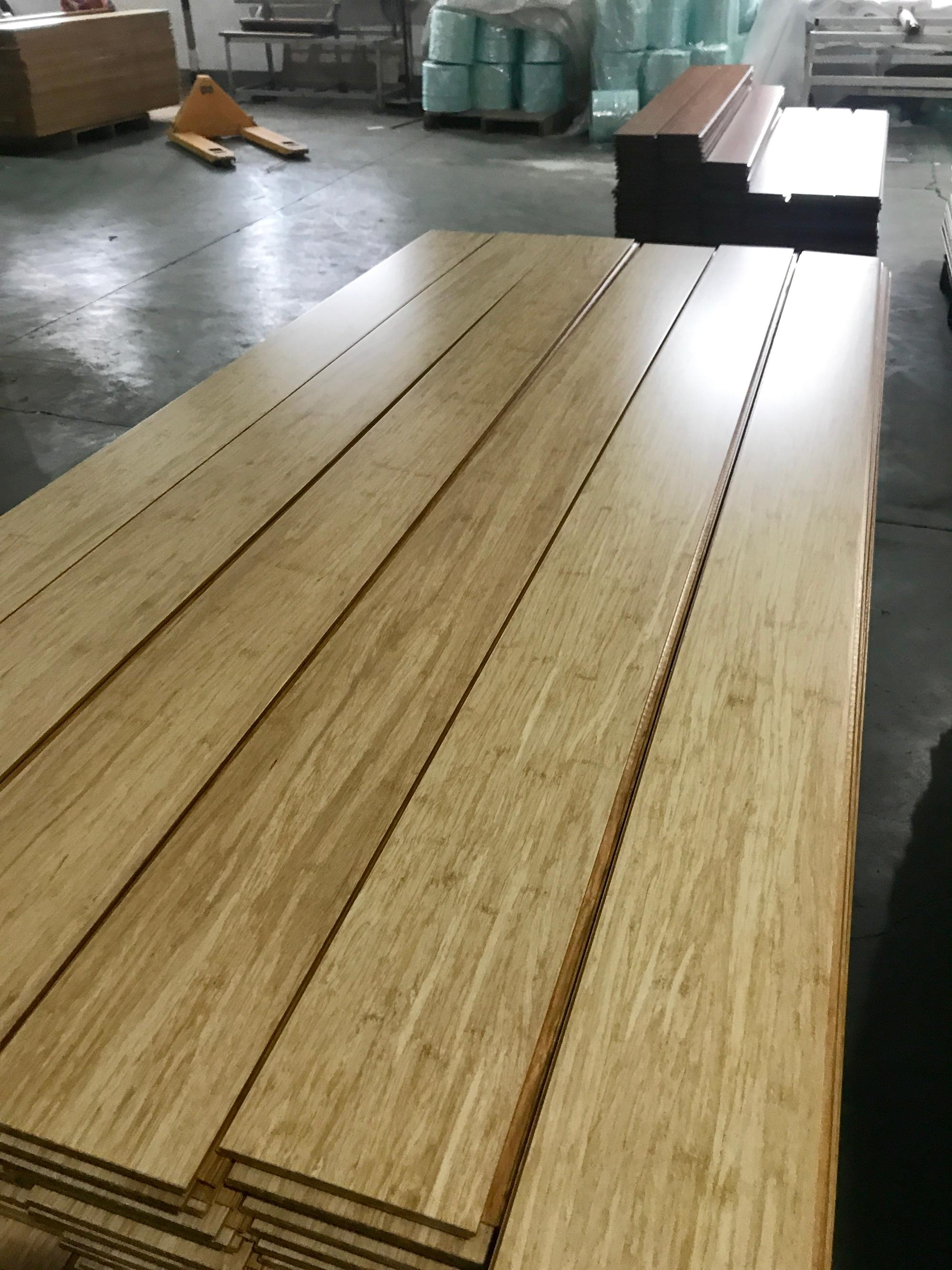 2018 Hot Sales Cheap Strand Woven Floating Bamboos Floor
