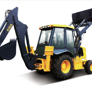 SINOMACH WZ30-25 backhoe wheel loader with 4in1 bucket