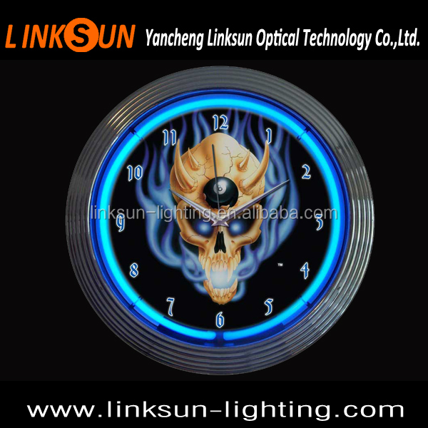 neon clock wholesale