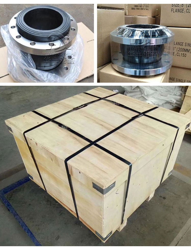 Pipe Fittings DN100 Flexible EPDM Rubber Expansion Joint Seal