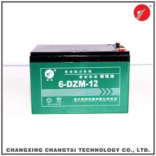 China industrial price of lead acid battery for scooter