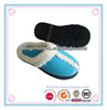 ladies' warm and fashion indoor slipper EVA outsole