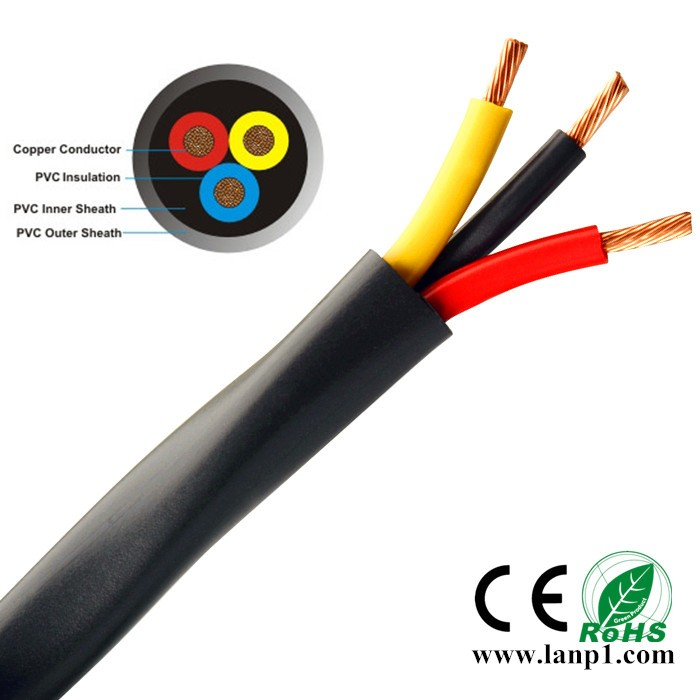 2 5 Pvc Cable : Multi core power cable pvc copper wire mm electric