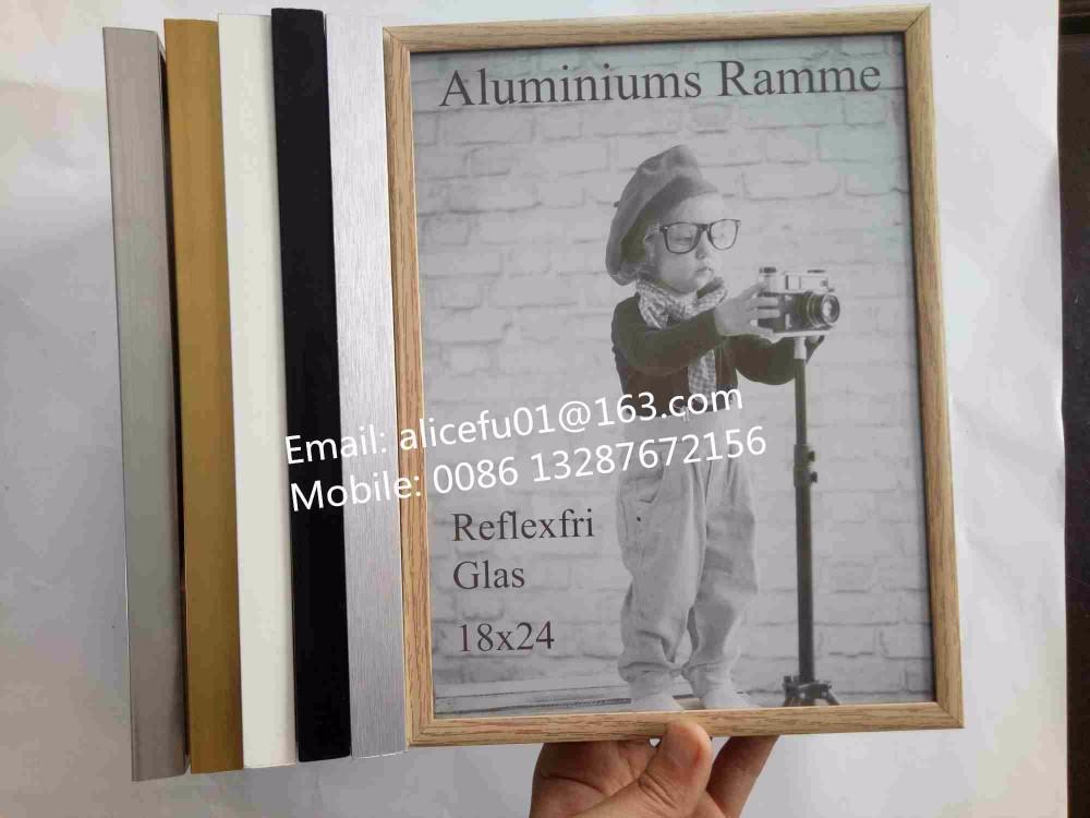 Großhandel Alle Größe Farbige Metall Aluminium Bild Bilderrahmen ...