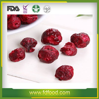 Cheap Price FD Fruits and Vegetables Healthy Freeze Dried Sour Cherry