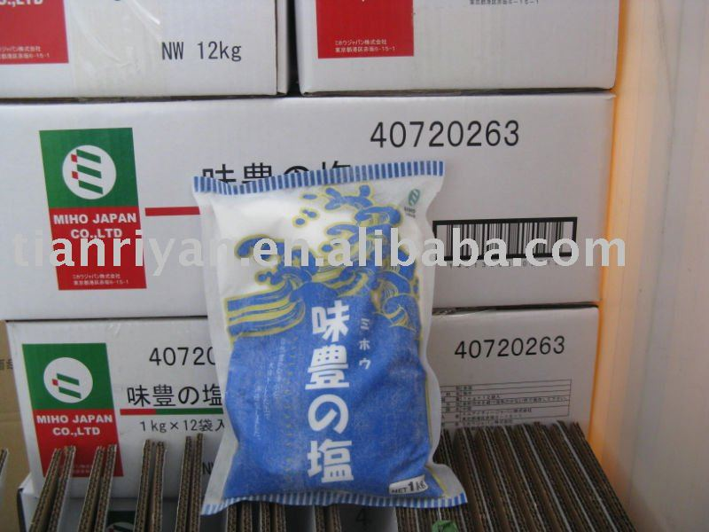 refined edible sea salt food grade
