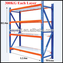 Yuanda Brand New Garage Warehouse Metal Steel Storage Shelving Racking Holds Up To 400KG Each Layer From Factory YD-0602