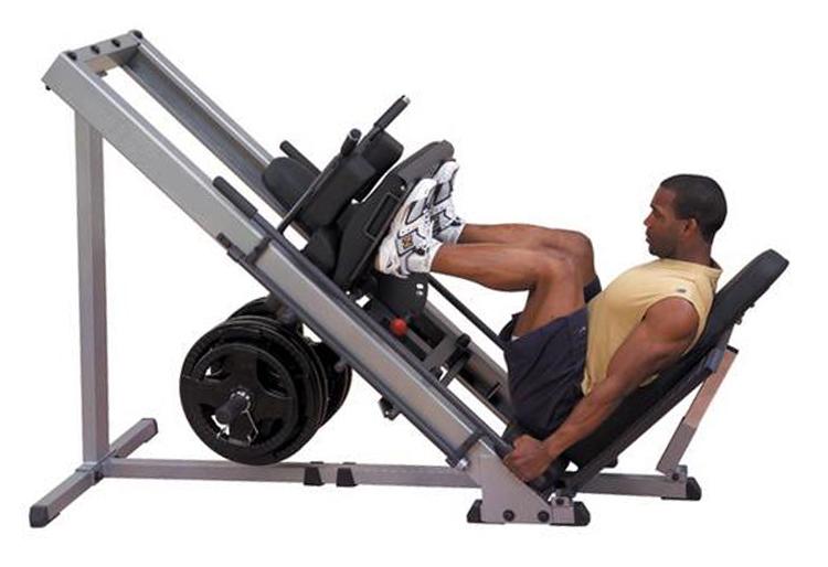 Angled Leg Press 45 Degree Kicking Machine