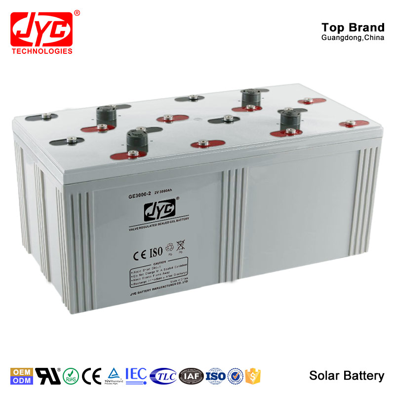 China Suppliers Manufacturer Most Powerful Storage Solar Power Battery 2V 3000Ah
