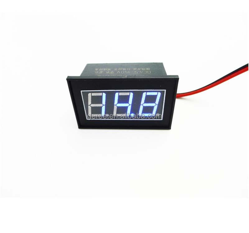 DC 0-100V LED 3-Digital Anzeige Spannung Voltmeter Panel Meter mit 3 Drähten New