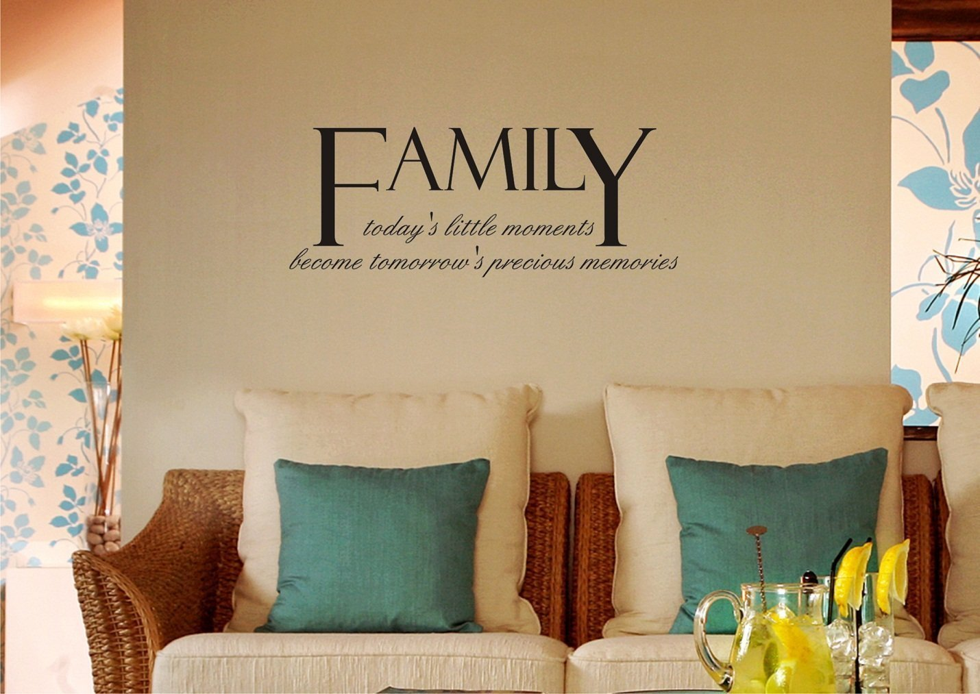 Buy Family Todays Little Moments And Memories Quote Vinyl Wall Decal