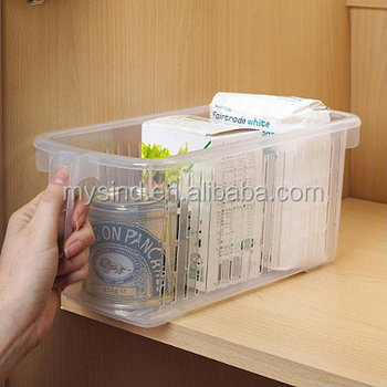 kitchen cabinet storage caddy with handle