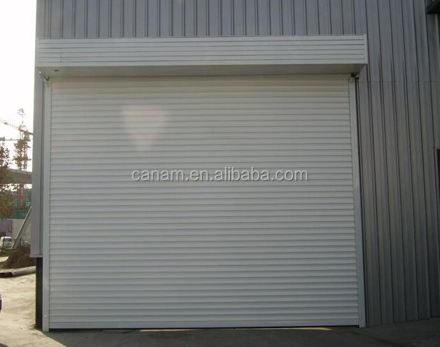 Security Door Stainless Steel Automatic Sliding Garage Gate Door