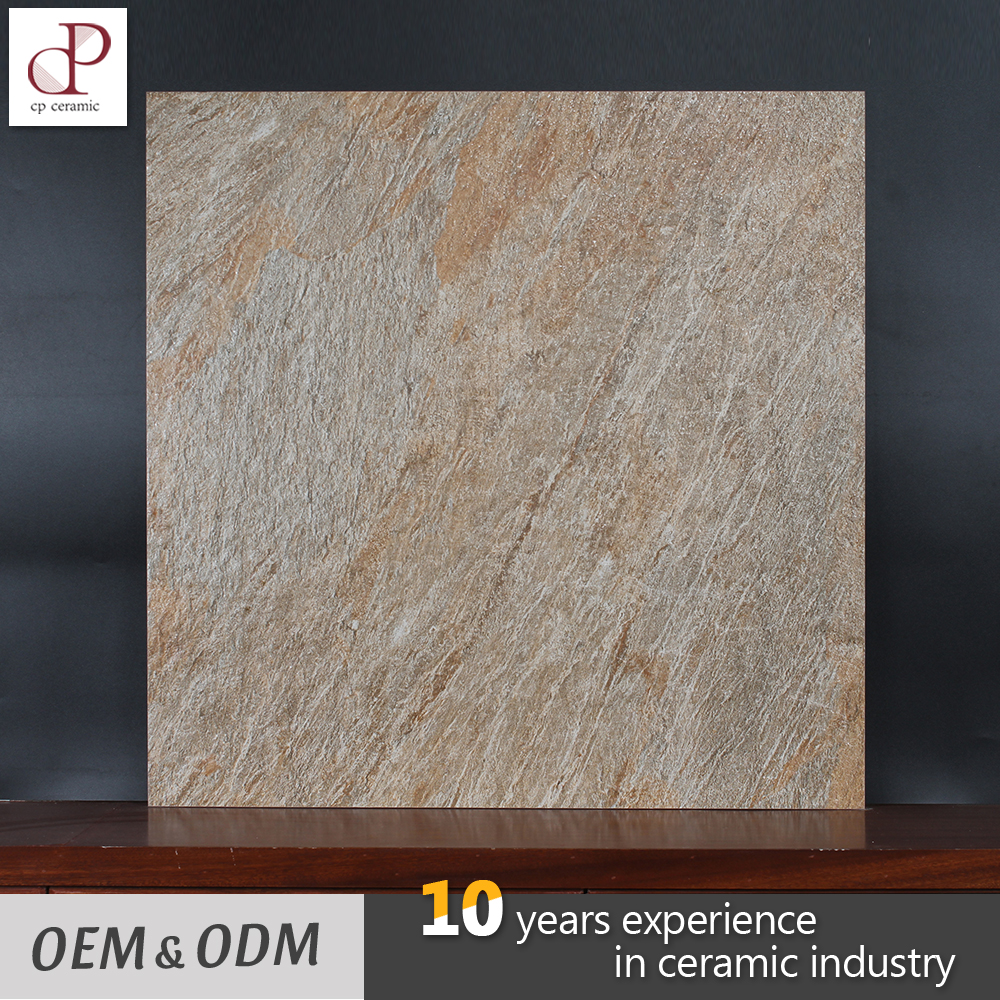 Natural Rough Floor Tile India Terrace Antislip Imitation Stone Tile 60X60