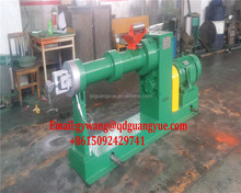 Single screw Cold feed rubber extruder/pipe extruder machinery