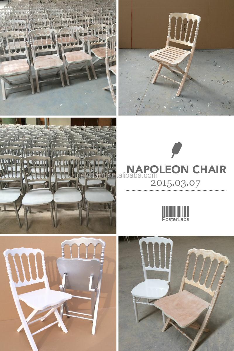 Mariage Pliage Evenement Chaise Napoleon Chaise Pliante Chaise A