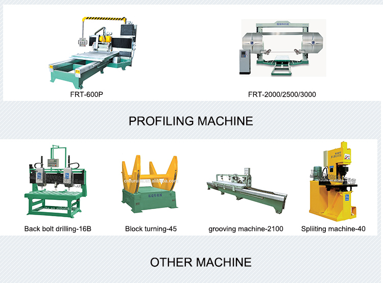 FRT-MV marble stone tumbling machine