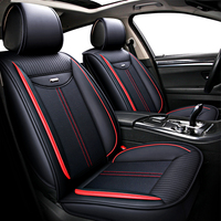 fancy lunxury colors PVC/PU leather car seat cover fit almost all cars auto accessories