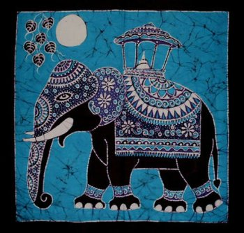 Batik Elephant Cards (5 Pack) | The Leprosy Mission