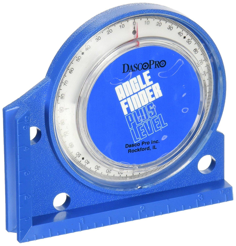 AF200M DASCO PRO Angle Finder,Mag,0-90 Deg,2-1//4 Base Blue