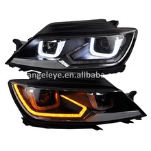 2014-2015 year for VOLKSWAGEN Lamando LED Headlights Front lamp fit for original car with Halogen Version LD