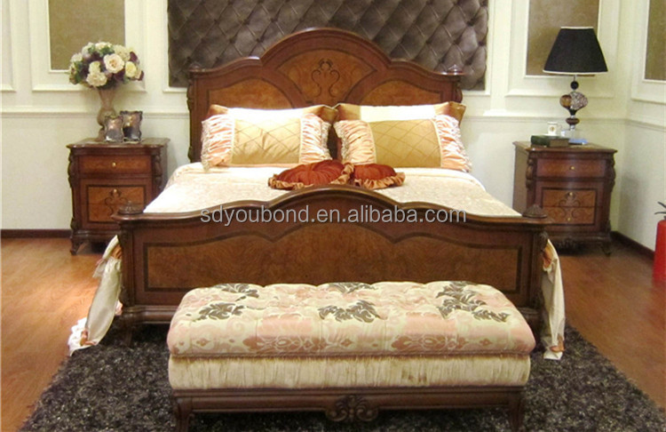 0051 Newest Neo Classic Solid Wood Furniture American