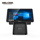 High Quality cash register pos terminal all in one for small businesses with printer