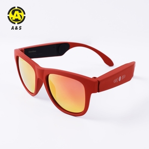 New Arrival Ce Rohs Bone Conduction Glasses For Mobile Phone Computers Bluetooth Headphone Sunglasses