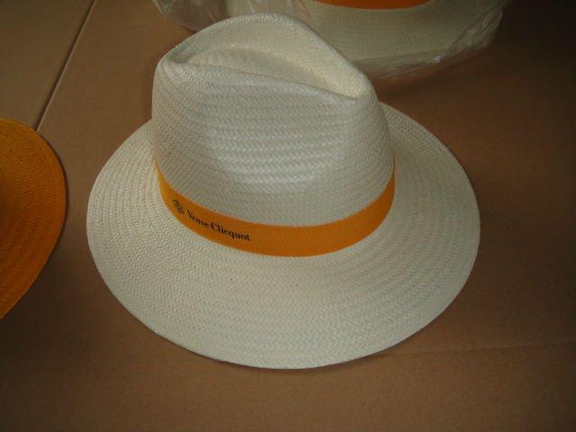 Factory Price High Quality Safari Gambler Golf Men Paper Straw Hat With Black Band