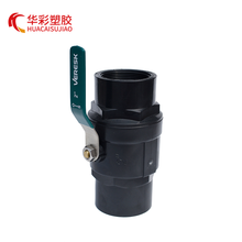 6 Inch PVC Ball Valve 4 Inch Butterfly Valve Menangani Single Handle Ball Valve